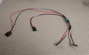 s l300 3drcparts 20awg dual wing servo extension wiring harness connect 2 servo wiring harness at bakdesigns.co