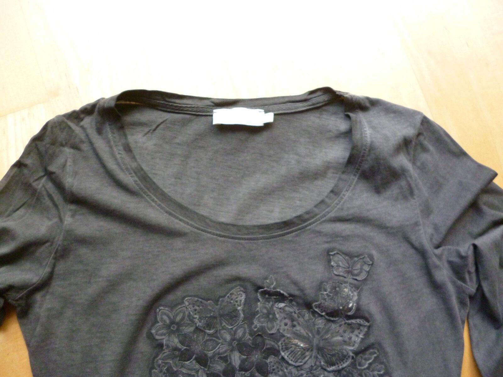 Tshirt  Cream  Gr. Gr. Gr. M  mit Lederapplikationen | Quality First  | Verschiedene Stile  | Online  | Großhandel  de70d8