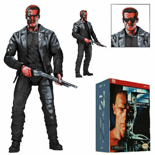 Terminator 2  T-800 Video Game Appearance  7-inch Action Figure by NECA 2016