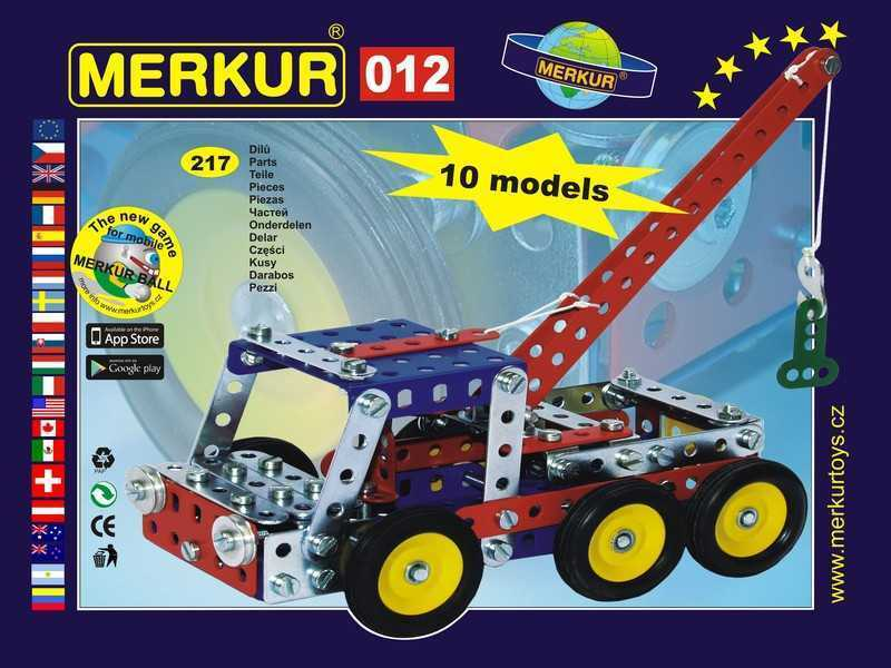 Metal construction set Merkur Recovery vehicle,0,8 kg,NEW,made in CZECH REPUBLIC