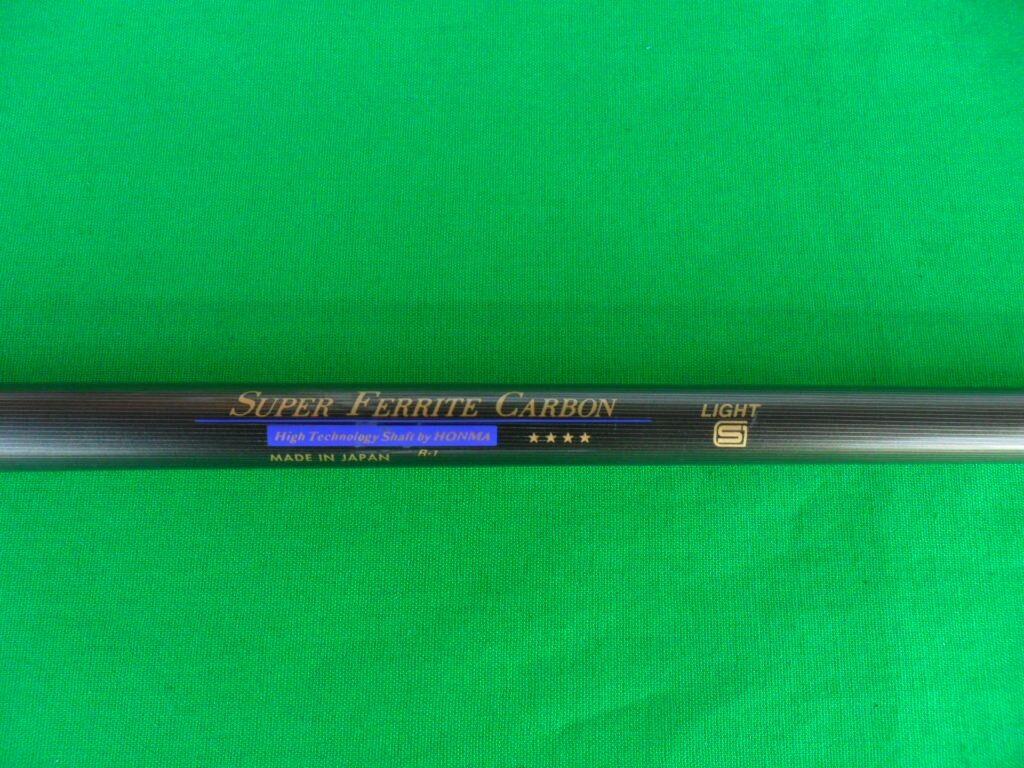 Honma ® Driver Eje  súper Eje de titanio de ferrita Cochebono () 4 estrellas (para controlador 46 )