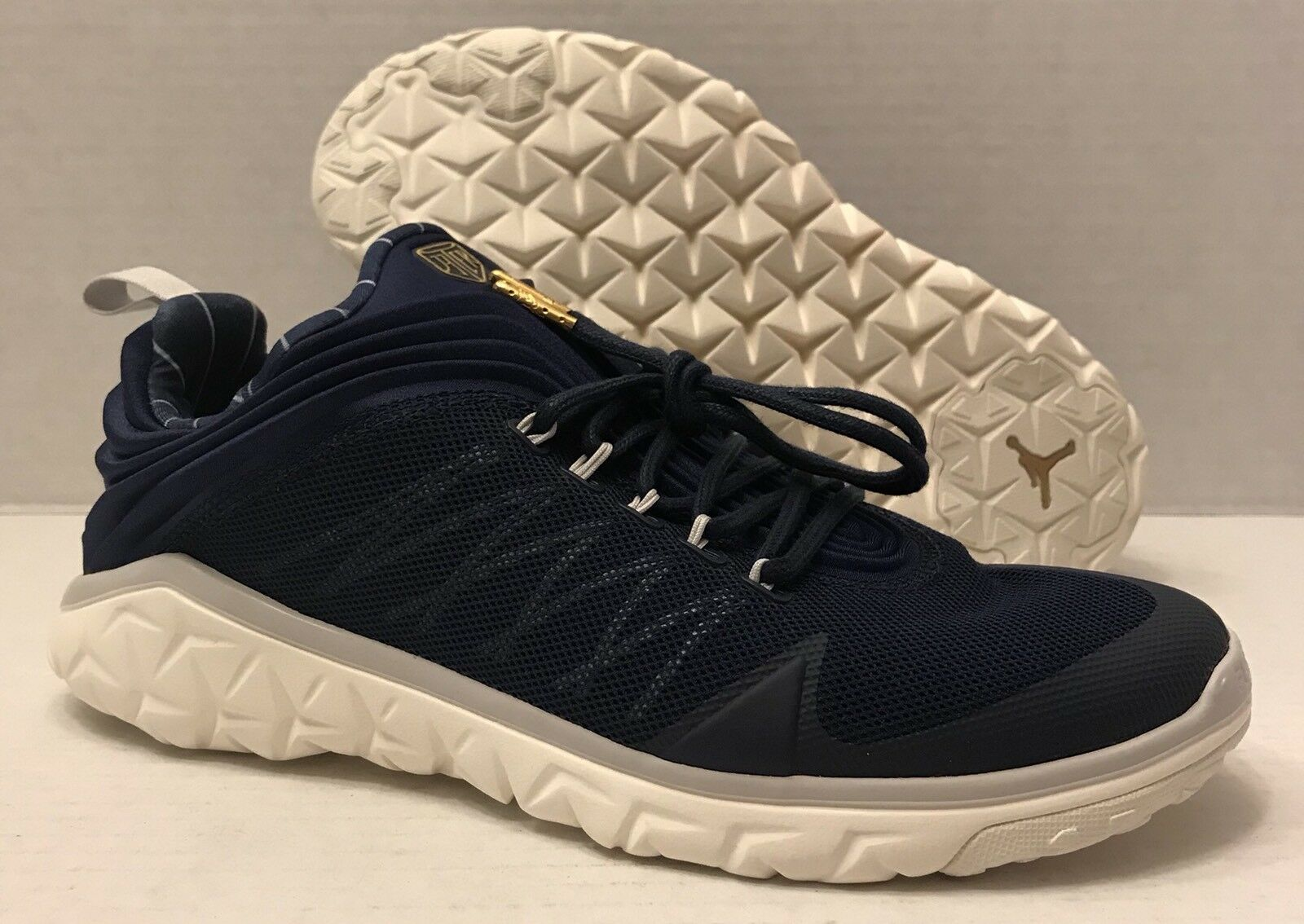 NIKE JORDAN FLIGHT FLEX TRAINER  DEREK JETER  715855-402 navy (MEN'S 10) NO BOX