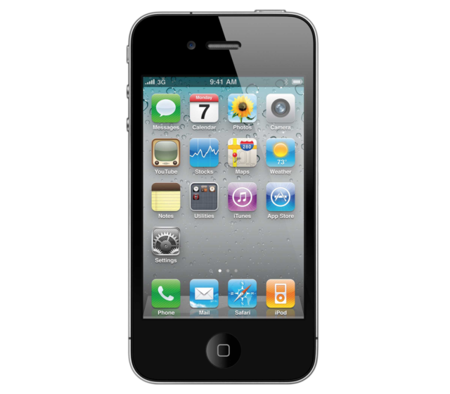 Apple iPhone 4 - 8GB - Black (Verizon) (Page Plus) Smartphone (MD146LL/A)