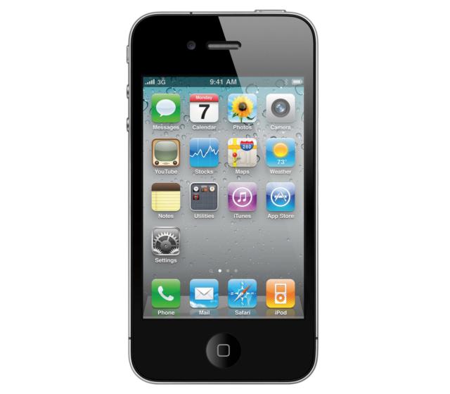 Apple iPhone 4 - 8GB - Black (Verizon) (Page Plus) Smartphone (MD146LL/A)
