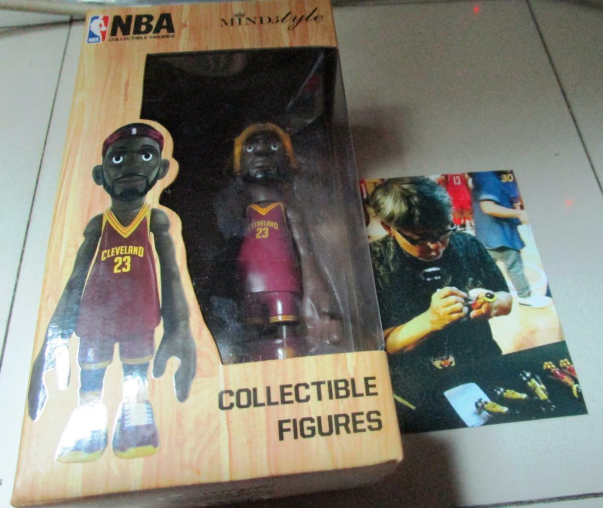 2015 NBA Lebron James cifra Clevele MINDSTYLE CoolRain Studio Firmato Nuovo