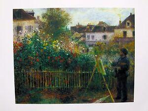 La foto se está cargando Pierre-Auguste-Renoir-Litografia-Monet-Pintura -en-su- 47d9f2e4bf