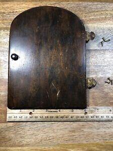 Mantle-Clock-Back-Door-Clock-Door-Lot-K1354