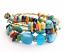 Boho-Multilayer-Natural-Stone-Bead-Tassel-Pendant-Chain-Bracelet-Charm-Women-Set thumbnail 40