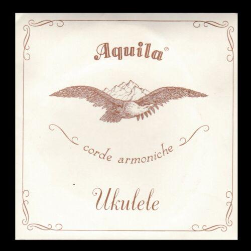 Aquila Nylgut 7 U Concert Ukulele Strings Creme colored package GCEA High G