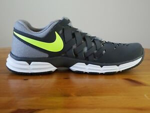 Men s Nike Lunar Fingertrap TR Size 8 shoes 898065-002 Excellent ... b50351d3ec34