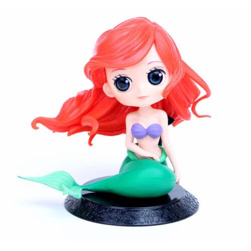 Q posket Disney Characters Little Mermaid GIRL PVC figure Toy Gifts Loose Ariel