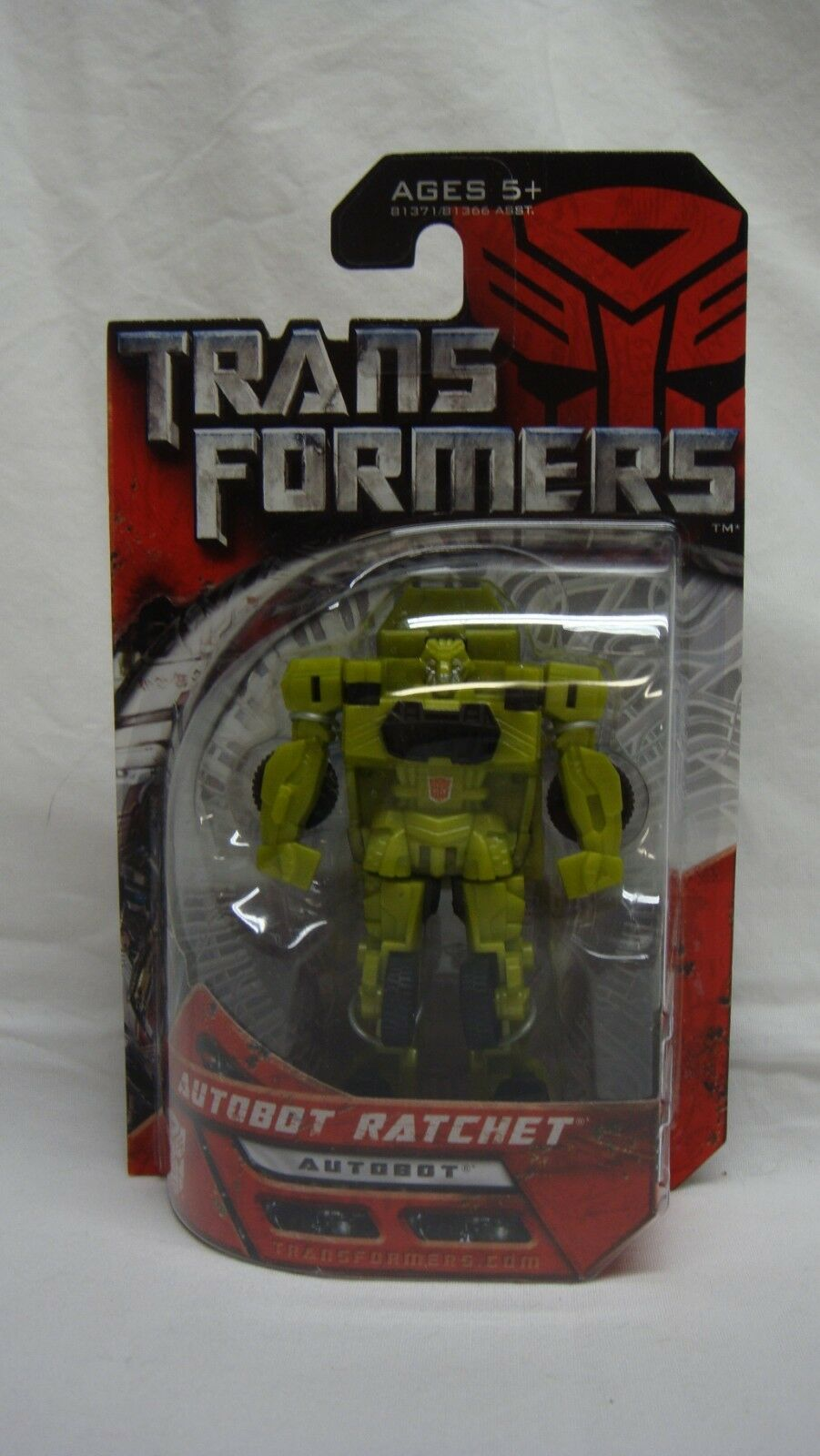 TRANSFORMERS MOVIE AUTOBOT RATCHET LEGEND COLOR VARIENT METALLIC GREEN RARE