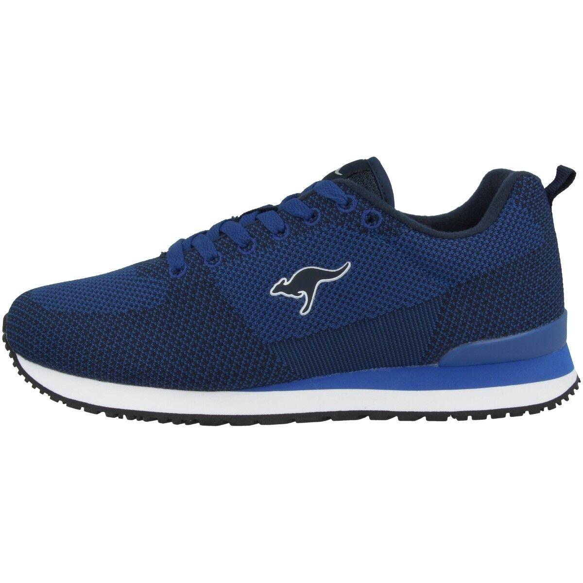 Kangaroos Retro Racer in Tessuto shoes da Ginnastica Sneakers blue Marino