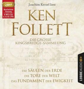 KEN-FOLLETT-DIE-GROsE-KINGSBRIDGE-SAMMLUNG-6-MP3-CD-NEW