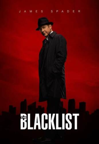 """Licensed-NEW-USA THE BLACKLIST Poster 27x40/"""" Theater Size James Spader"""