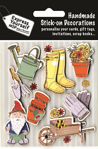 Gardening-amp-Gnome-DIY-Greeting-Card-Toppers-Stick-on-Craft-Decorations