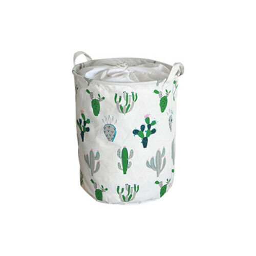 Laundry Washing Dirty Clothes Basket Bin Foldable Storage Hamper Toys Organizer