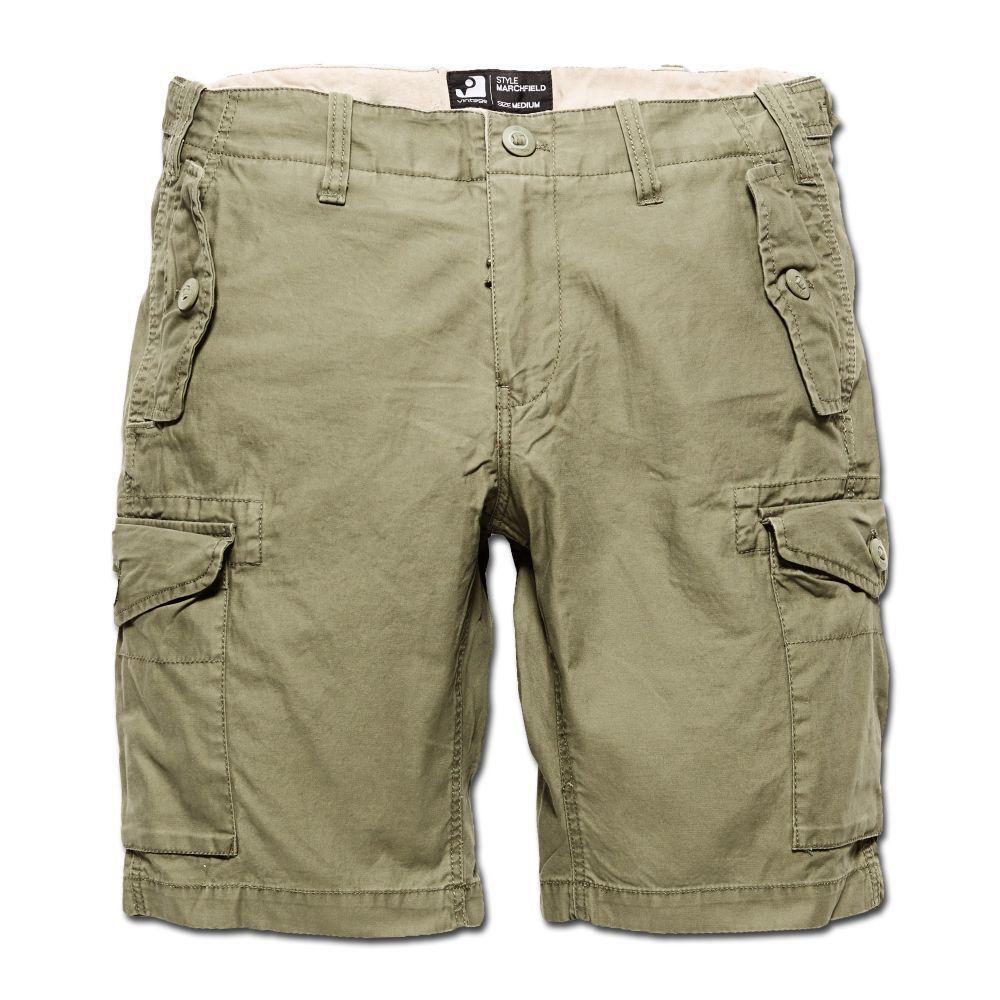 Vintage Industries Marchfield Premium Shorts oliv