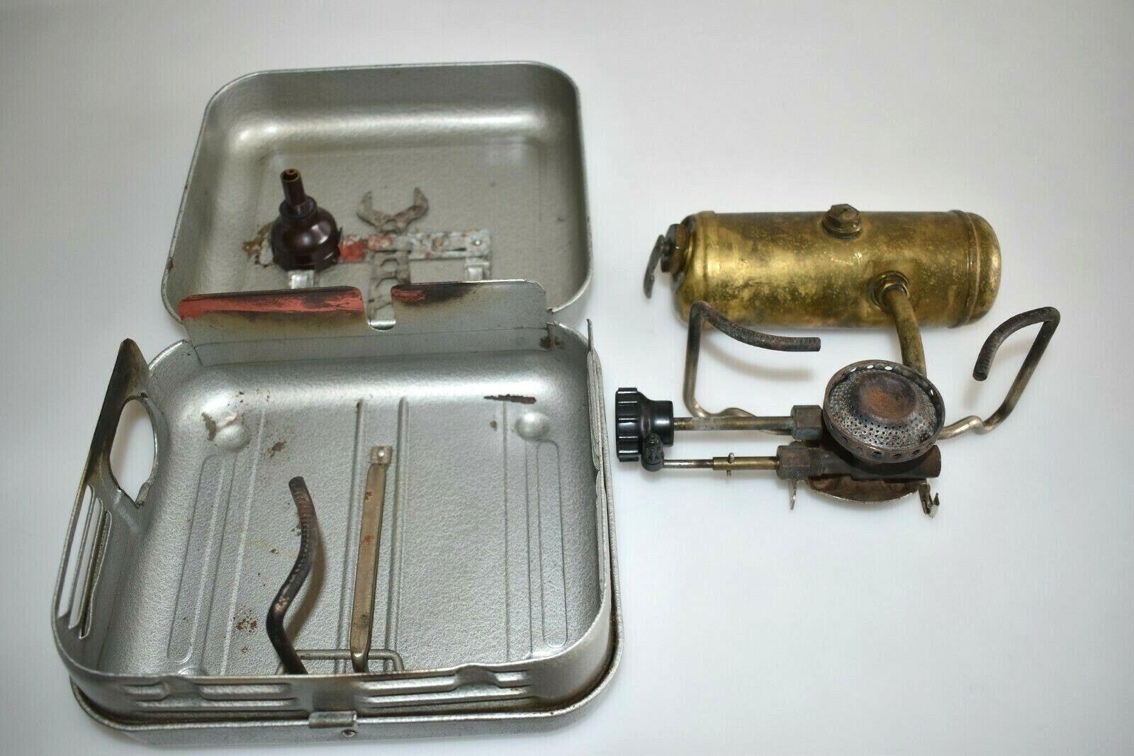 Enders Benzin-Gaskocher 9060D Original Campingkocher Vintage Fach C2