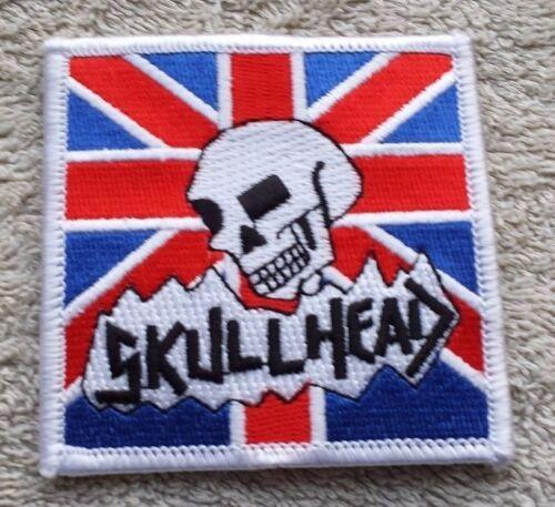 UNION JACK SKULL UK FLAG PATCH Cloth Badge//Emblem Punk Rock Biker Jacket British