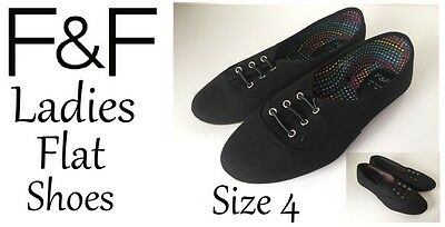 Ladies Shoes Black Ankle Boot Style Size Uk6 New With Tags Free Delivery