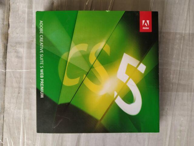 Adobe Creative Suite 5 Web Premium For Sale