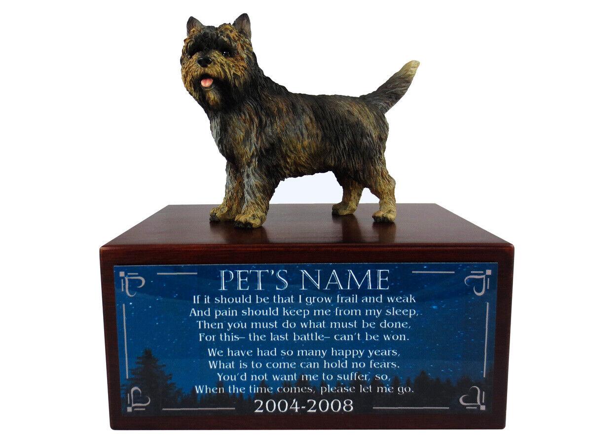 Conversation Concepts Brindle Cairn Terrier