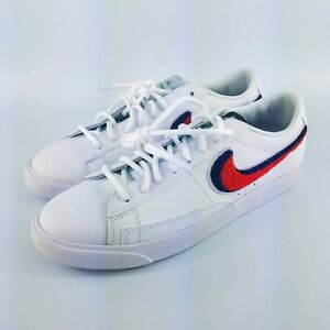 wholesale dealer 69d82 bfd39 Details about Nike Blazer Low 3D Premium Shoes - White/Blue/Red -  AV6964-100 - Sz 8.5 M / 10 W