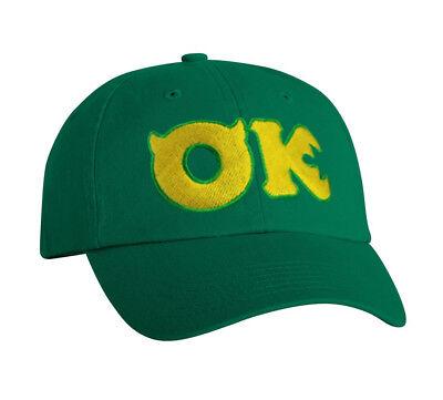 Oozma Kappa Hat Monsters University Disney Mike Halloween cosplay  adjustable cap 9f221deea212