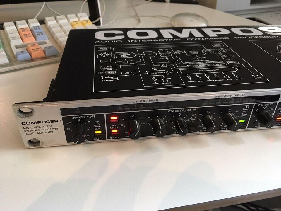 Compressor, Behringer Producer MDX 2100