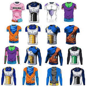 Dragon-Ball-Goku-Comic-Short-Long-Sleeve-T-Shirt-Super-Saiyan-Bulma-Casual-Sport