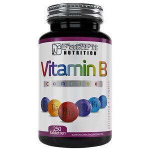 Vitamin-B-Complex-250-Tabletten-Die-preiswerte-Alternative-Fat2Fit-Nutrition
