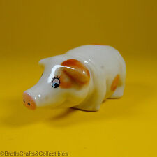 Wade Whimsies (1999) Pocket Pals (Happy Families) Series - Truffle the Pig