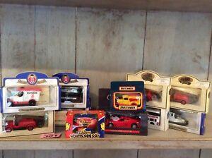 Diecast Vehicles Job lot Matchbox, Collezione Ferrari, Oxford Diecast, Cream Egg