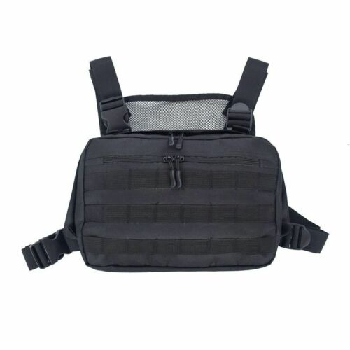 Chest Rig HipHop Streetwear Functional Package Military Tactical Chest Bag Cross