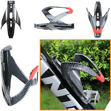 CARBON FIBRE BIKE WATER BOTTLE HOLDER BRACKET FOR MOUNTAIN ROAD BICYCLE CAGE UK