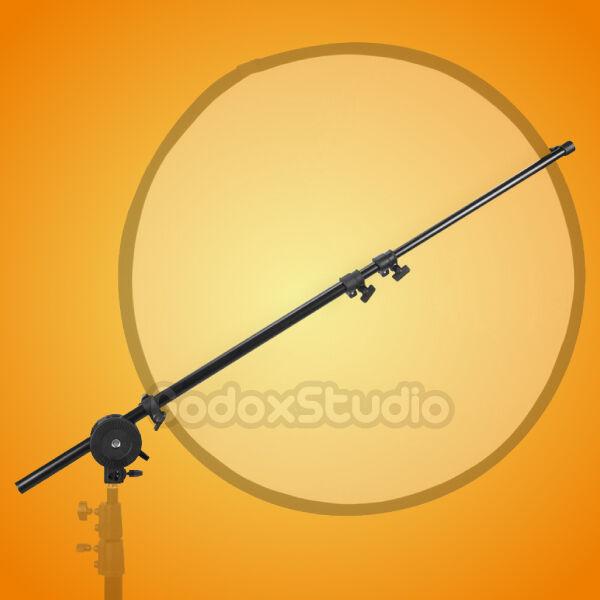 "Studio Pro Photo Holder Bracket Swivel Head Reflector Disc Arm Support 26""-69"""