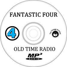 Fantastic Four- OTR MP3 CD - Old Time Radio Show - Marvel Comics