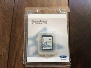Genuine Ford V5 Sat Nav Satellite Navigation SD Card Europe EM5T 19H449 DAC
