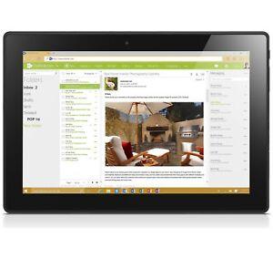 Lenovo MIIX 310 10.1 Inch Atom 2GB 64GB Tablet - Silver. From Argos on ebay