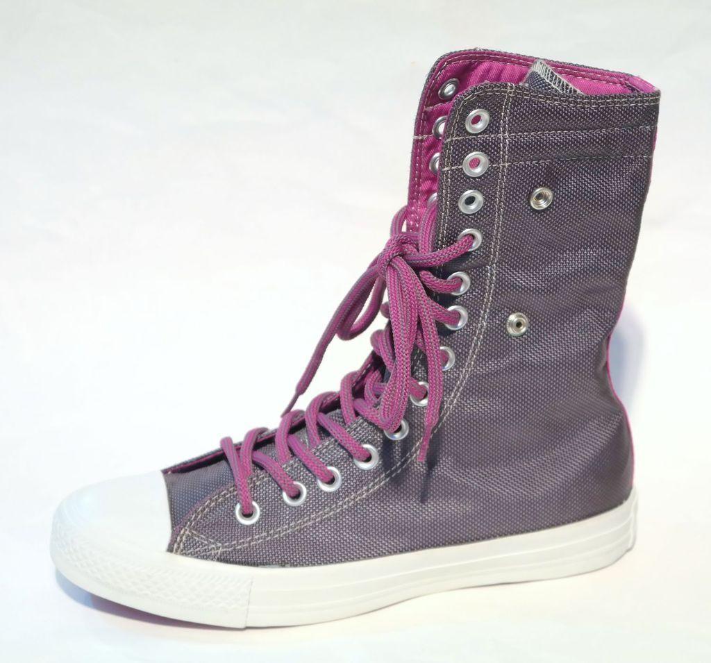 CONVERSE CT Chucks KNEEE HI XHI XHI XHI RABBIT Grey Purple shoes X-HI WOMEN c55749