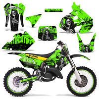 Suzuki Rm125 Graphics Kit Dirt Bike Decals Sticker Wrap Rm 125 99-00 Reap Green