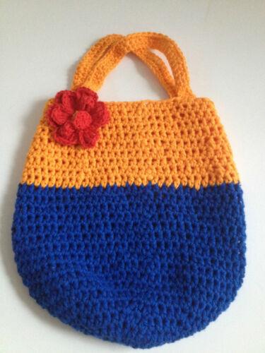 Kindertasche Tasche Kita Spielzeug Henkeltasche Mädchentasche Häkeltasche
