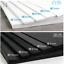 1-5PCS EVA Foam Sheet Plate Mats Cosplay Grey//White// Black 1MM-10mm Thick