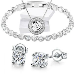 4c7179cb4053d Details about 18k Gold Silver Black 1 Row Iced Out Lab Diamond Bling Hip  Hop Tennis Bracelet