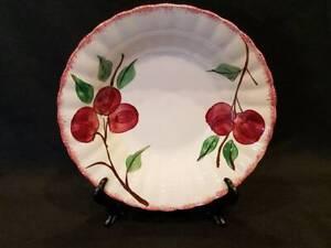 Blue-Ridge-Southern-Potteries-Cherry-Pattern-Serving-Bowl
