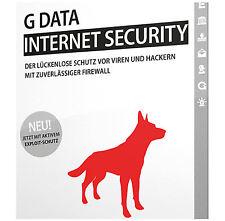G DATA Internet Security 2017 * 3 PC * 1 Jahr *  Lizenz * GData