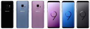 Samsung Galaxy S9 G960U G960U1 GSM Unlocked AT&T Cricket T-Mobile Verizon