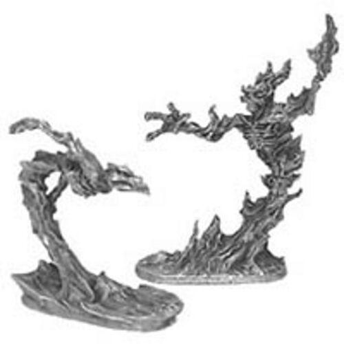 Ral Partha 01-029 Elemental Daemons Fire /& Water Flame /& Wind Demons Spirits NIB