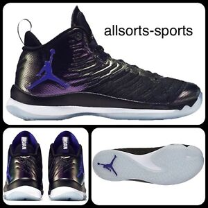 wholesale dealer 4d3dd 63a64 Details about Nike Air Jordan Super.fly 5 Black Space Jam 844677-012 UK 9,  11.5